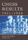 Chess Results, 1931-1935: A Comprehensive Record with 1,065 Tournament Crosstables and 190 Match Scores