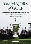 The Majors of Golf Set: Complete Results of the Open, the U.S. Open, the PGA Championship and the Masters, 1860-2008
