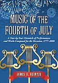 Music of the Fourth of July: A Year-By-Year Chronicle of Performances and Works Composed for the Occasion, 1777-2008