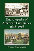 Encyclopedia of American Communes, 1663-1963