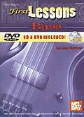 First Lessons Bass [With CD and DVD]