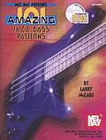 Mel Bay Presents 101 Amazing Jazz Bass Patterns Book