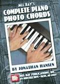 Mel Bay's Complete Piano Photo Chords