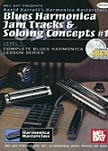 Blues Harmonica Jam Tracks & Soloing Concepts 1