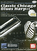 Classic Chicago Blues Harp 1 with CD Audio