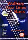 Mel Bay Presents Walking Jazz Lines for Bass