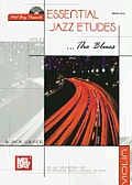 Essential Jazz Etudes... the Blues for Violin [With CD]