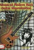 Advanced Modern Rock Guitar Improvisation with CD Audio & DVD