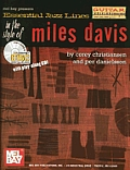 Essential Jazz Lines in the Style of Miles Davis: Guitar Edition [With CD]
