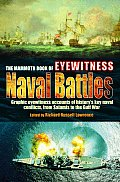 The Mammoth Book of Eyewitness Naval Battles (Mammoth Book) Cover