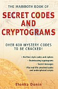 Mammoth Book of Secret Codes and Cryptograms Cover