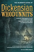 The Mammoth Book of Dickensian Whodunnits (Mammoth Book of) Cover