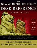 The New York Public Library Desk Reference Fourth Edition (New York Public Library Desk Reference) Cover