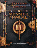 Monster Manual :D&D 3RD Edition Cover
