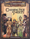 D&D Character Sheets 3RD Edition Cover