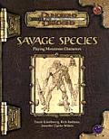 Savage Species D&D 3rd Edition d20