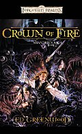 Crown Of Fire: Shandril's Saga, Book II (Forgotten Realms) by Ed Greenwood