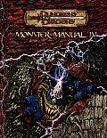 Monster Manual Iv D&D