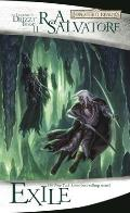 Forgotten Realms Novel: The Legend of Drizzt #02: Exile Cover