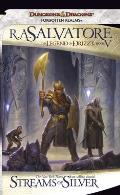 Forgotten Realms Novel: Legend of Drizzt #05: Streams of Silver Cover