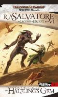 Forgotten Realms Novel: Legend of Drizzt #06: The Halfling's Gem Cover