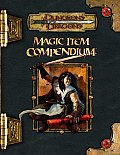 Magic Item Compendium (Dungeons &amp; Dragons Supplement) Cover