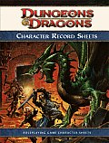 D&D 4th Edition Character Record Sheet