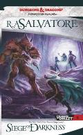 Forgotten Realms Novel: Legend of Drizzt #09: Siege of Darkness Cover