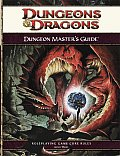 D&D 4th Edition RPG Dungeon Masters Guide