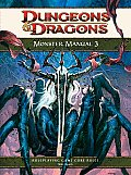 Monster Manual 3: A 4th Edition D&d Core Rulebook Cover