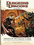 Heroes of the Fallen Lands: An Essential Dungeons & Dragons Supplement (4th Edition D&d) Cover