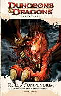 Rules Compendium: An Essential Dungeons & Dragons Compendium (4th Edition D&d) Cover