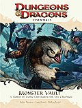 Monster Vault: A Horde of Iconic Creatures for Any Campaign [With Die-Cut Monster Tokens and Fold-Out Battle Map and Booklet] (Dungeons & Dragons Essentials) Cover