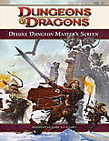 Deluxe Dungeon Masters Screen A 4th Edition D&d Accessory
