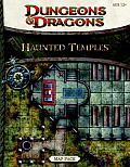 Haunted Temples Map Pack: A 4th Edition Dungeons & Dragons Accessory