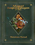 Premium 2nd Edition Advanced Dungeons & Dragons Monstrous Manual (Dungeons & Dragons Core Rulebooks)