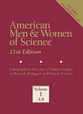 American Men & Women of Science 21 8v Set (American Men & Women of Science: A Biographical Directory of Today's Leaders in Physical, ...)