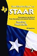 Swyk on Staar Reading Flash Cards Gr 3: Preparation for the State of Texas Assessments of Academic Readiness