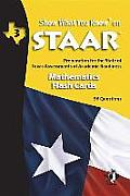 Swyk on Staar Math Flash Cards Gr 3: Preparation for the State of Texas Assessments of Academic Readiness