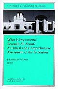 Institutional Rsrch Critical Assess 104