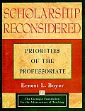 Scholarship Reconsidered Priorities of the Professoriate