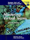 Mastering Virtual Teams with CDROM Cover