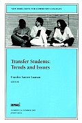 Transfer Students Trends & Issues