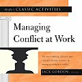 Pfeiffer's Classic Activities for Managing Conflict at Work