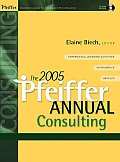 The Pfeiffer Annual: Consulting [With CDROM]
