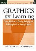 Graphics for Learning Proven Guidelines for Planning Designing & Evaluating Visuals in Training Materials With CDROM