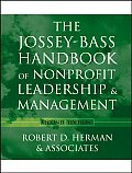Jossey Bass Handbook of Nonprofit Leadership & Management
