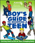 AMA Boy's Guide to Becoming a Teen Cover