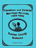 Freedmen & Colored Marriage Records,1865-1890, Sumter County, AL