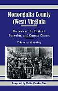 Monongalia County, (West) Virginia, Records of the District, Superior and County Courts, Volume 12: 1822-1823